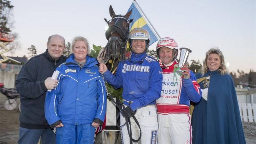 – Donna Di Quattro efter sin seger i Steinlagers Äreslopp