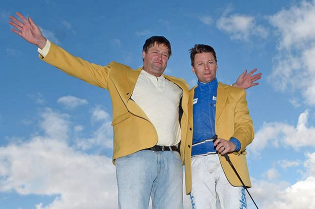 – Svante Båth och Erik Adielsson efter Derbysegern 2015
