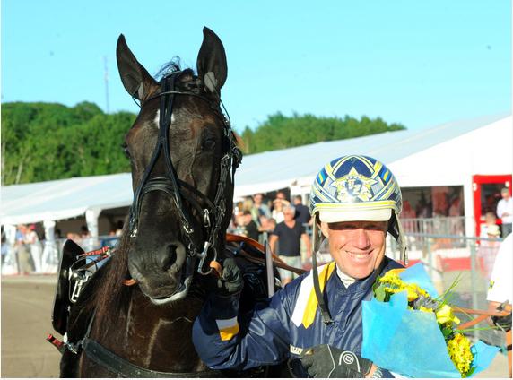 Nuncio och Stefan Melander efter Sprintermästaren 2015